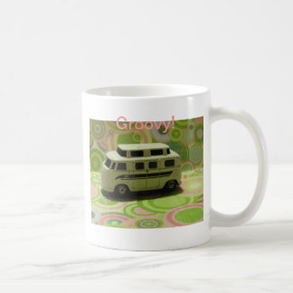 Groovy Bus Basic White Mug