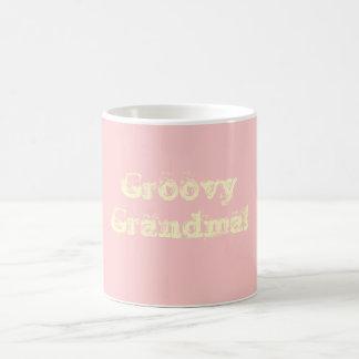 Groovy Grandma! Basic White Mug
