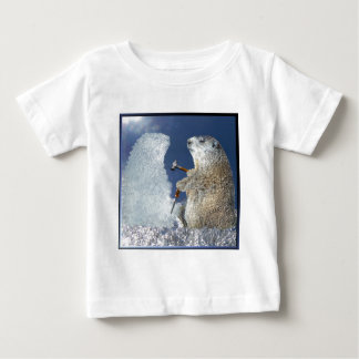Groundhog Day Ice Sculpture Tees