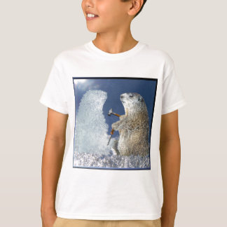 Groundhog Day Ice Sculpture Tshirts