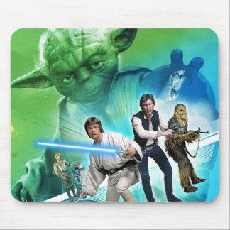 Group Inside Yoda Mouse Pad