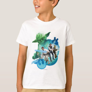 Group Inside Yoda Tee Shirt