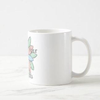 Grow Your Thoughts Basic White Mug