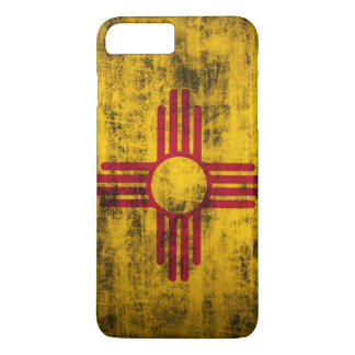 Grunge New Mexico Flag iPhone 7 Plus Case
