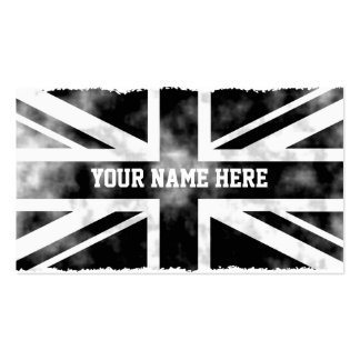 Grunge UK Pack Of Standard Business Cards