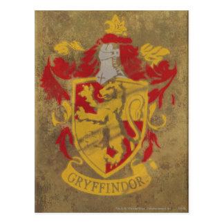 Gryffindor Crest HPE6 Postcard