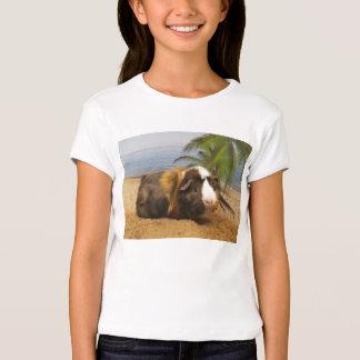 Guinea Pig Under Palm Tree Tee Shirt