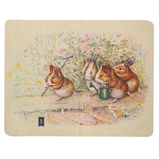 Guinea Pigs Planting in the Garden Journal