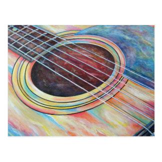Guitar 2 postcard