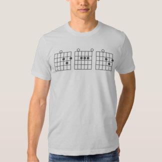 Guitar Chord DAD T-shirt