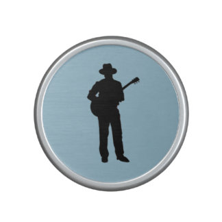 Guitar Player with Hat Speaker