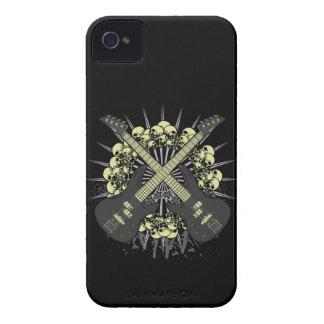Guitar Skulls Rock Music iPhone4 iPhone4s Case
