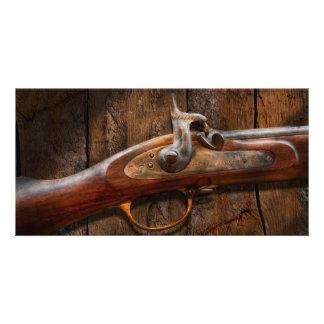 Gun - Musket - London Armory Custom Photo Card