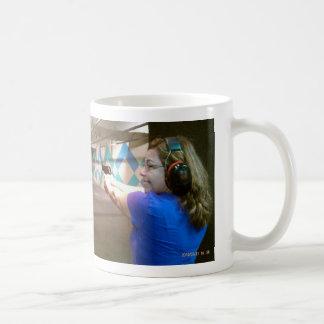 Gunrange Lucy Basic White Mug
