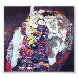 Gustav Klimt The Virgin Print Photograph