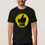 GYAWS 2016 Yellow Circle Thumbs Up Tshirt