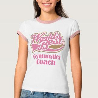 Gymnastics Coach Gift Tee Shirt
