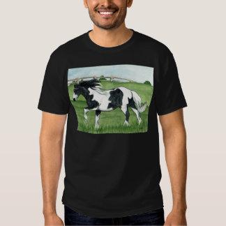Gypsy Vanner Galloping Tee Shirt