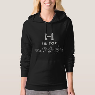 H is for HOLLA Women's Hoodie