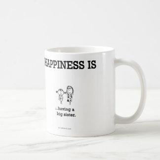 HA796 Happiness Big Sister Basic White Mug