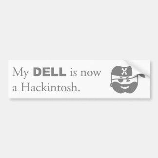 Hackintosh Pirate Bumper Sticker