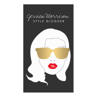 Hair Salon, Style Blogger, Beauty Girl III Pack Of Standard Business Cards