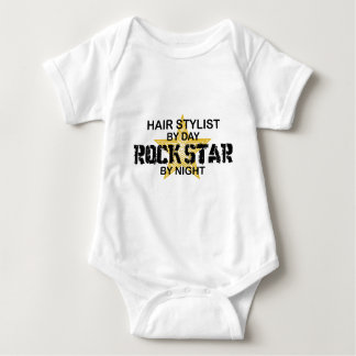 Hair Stylist Rock Star by Night Shirt