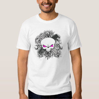 Hairdresser Skull T Shirt