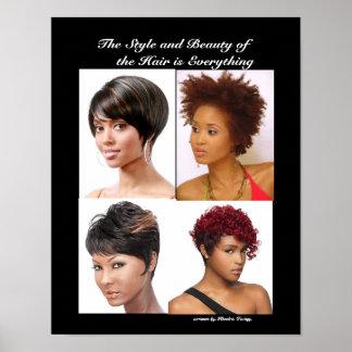 Hairstyes Poster