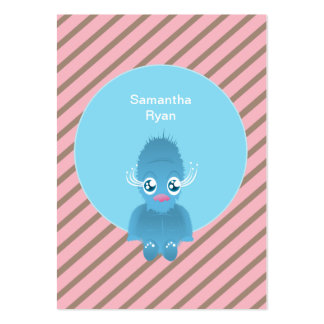 HAIRY ELF BEAR PACK OF CHUBBY BUSINESS CARDS
