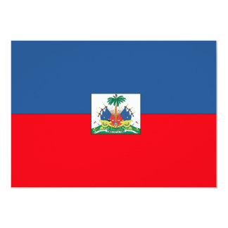Haiti Flag 13 Cm X 18 Cm Invitation Card