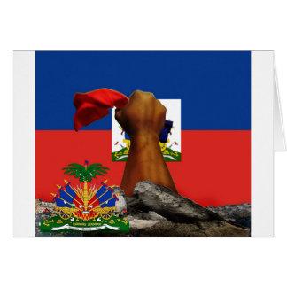haiti rise copy 2.jpg greeting card
