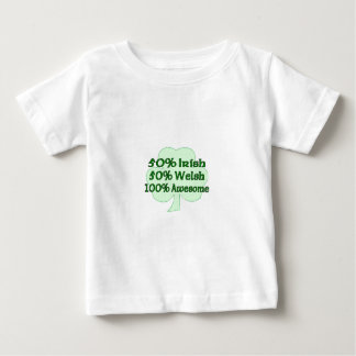 Half Irish Half Welsh Totally Awesome T Shirt