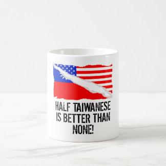 Half Taiwanese Is Better Than None Morphing Mug