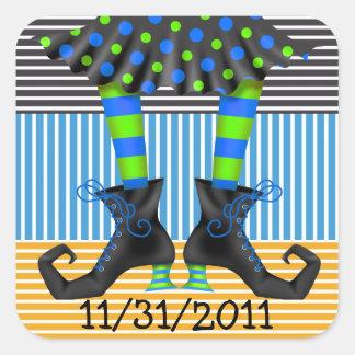 Halloween Drop In - SRF Square Sticker