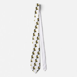 Halloween Flying Witch Tie