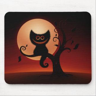 Halloween Kitten Mouse Pad