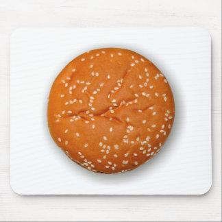 Hamburger Bun Mouse Pad