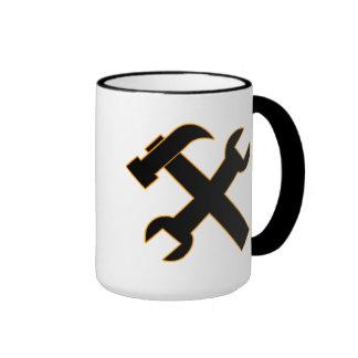 Hammer and Spanner Ringer Mug