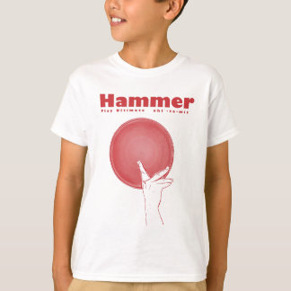 Hammer in RED T Shirts