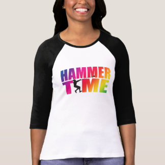 Hammer Throw Long Sleeve Track and Field T-shirt