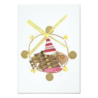Hamster Ferris Wheel Invitations