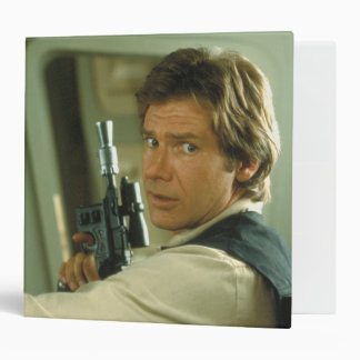 Han Solo Photograph 3 Ring Binder