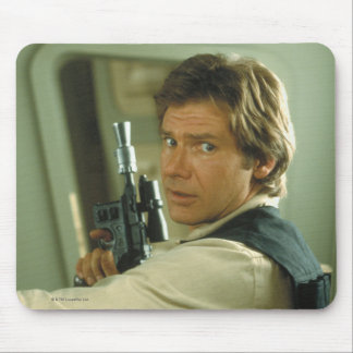 Han Solo Photograph Mouse Pad