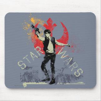 Han Solo Retro Mouse Pad