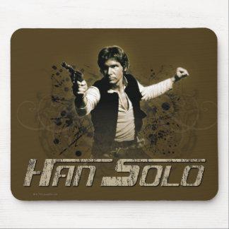 Han Solo Sepia Mouse Pad