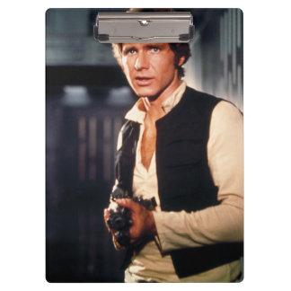 Han Solo Still Photograph Clipboard
