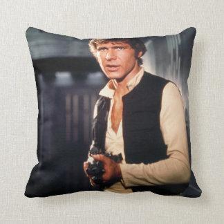 Han Solo Still Photograph Cushion