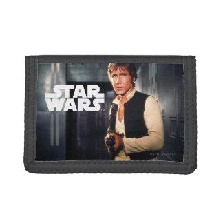 Han Solo Still Photograph Tri-fold Wallet