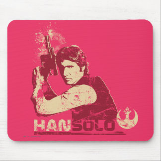 Han Solo Vintage Graphic Mouse Pad